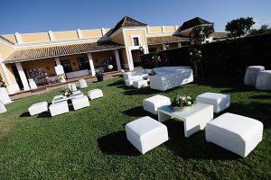 zona chillout hacienda bodas sevilla